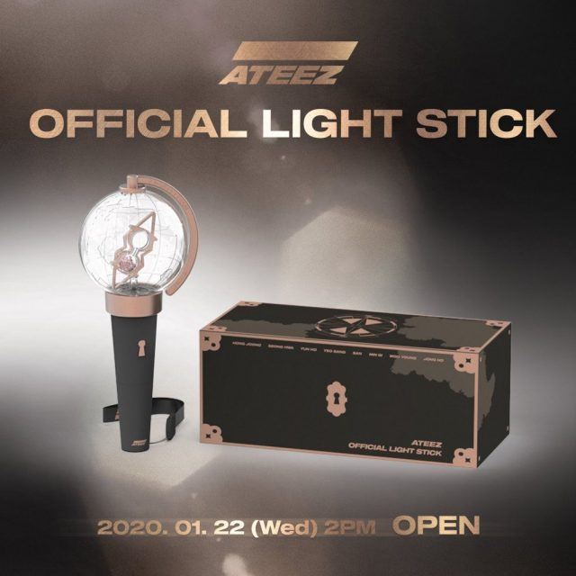 ateez light stick
