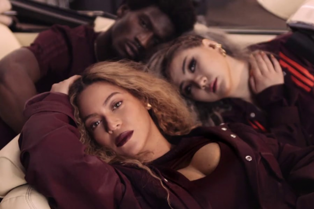 CL i Beyoncé w klipie